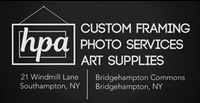 HPA Southampton NY. Photo, Art and Framing